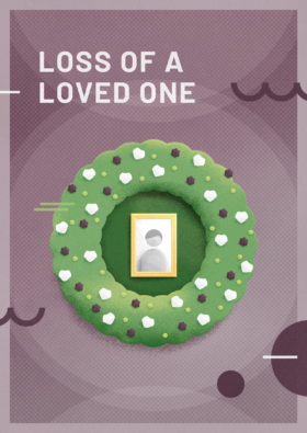 Carte Loss Of A Loved One