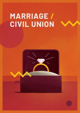 Carte Marriage Civil Union